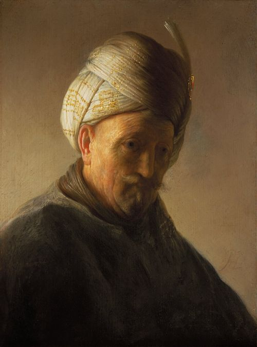 35 REMBRANDT_Old Man In Turban