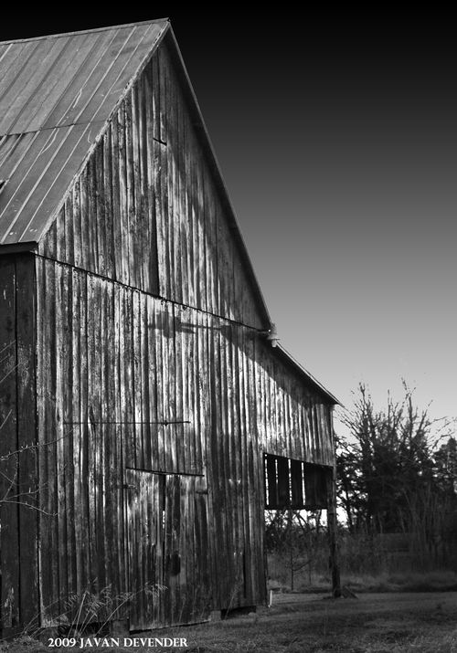 Sunrise_Barn01BW_signed2