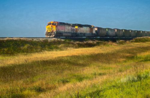 Hauling Freight_Impressionist_8119336